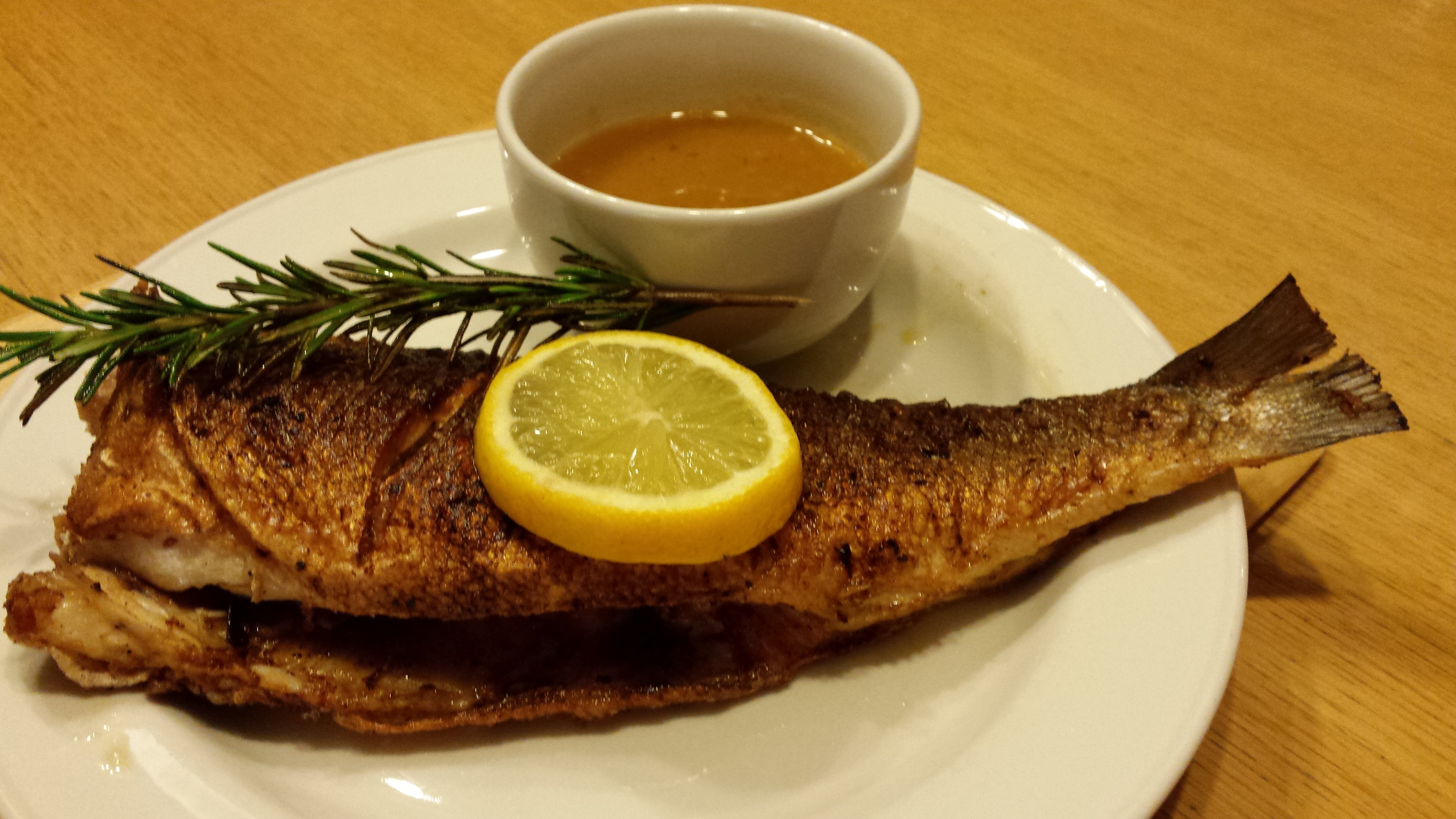 Aromatic fried fish and vinaigrette brinda bungaroo for Is fish considered meat