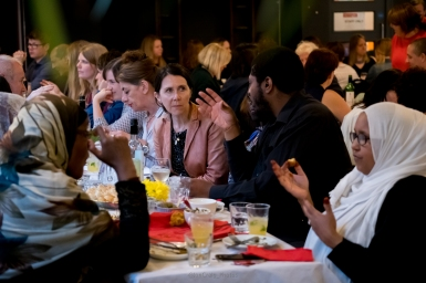20170523 - 91Ways guest chef, Brinda from Mauritius . Dinner at the Station / Creative Youth Network. Photos by @JonCraig_Photos 07778606070